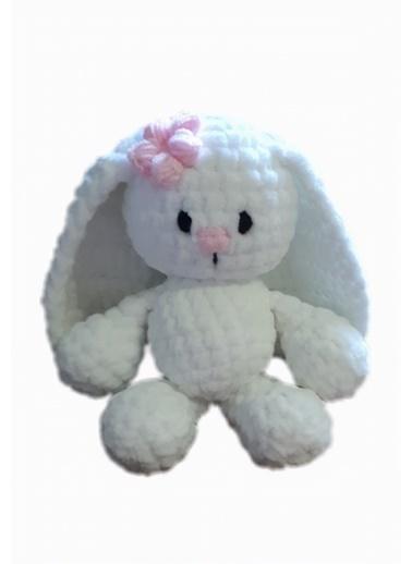Damla Oyuncak Damla Oyuncak Tavşan Örgü Renkli Oyuncak Renkli